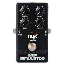 Pedal Nux As4 Simulador De Amplificador