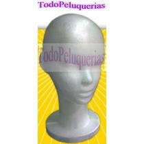 Cabeza De Practica Corta * Maniqui Tergopol Todopeluquerias