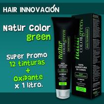 Super Promo 12 Tinturas + 1 Oxidante X 1 Litro
