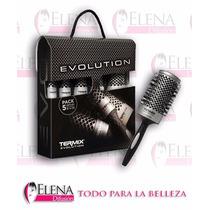 Cepillo Termix Evolution Pack De 5 Cepillos Brushing
