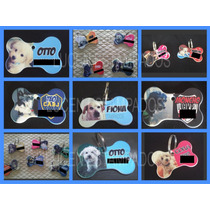 Medallas Llaveros Chapitas Personalizadas Mascotas/varios