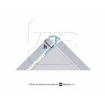 Guardacanto De Aluminio 2.5 Mtrs