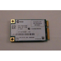 Placa De Red Inalambrica Toshiba Satellite A135-s2326 15.4