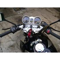 Manubrio Pistero Universal Moto Color Aluminio - Caferacer