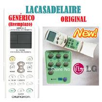 Control Remotos Lg Generico Ya Codificado Frio Calor