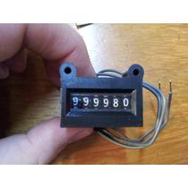 Contador Mecánico 6 Dígitos 6 Volt