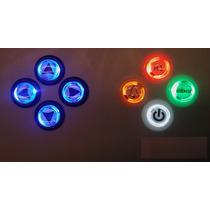 Botón Luminosos!! Mame Redondo Arcade Profesional