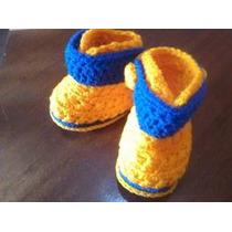 Botas Artesanales Crochet Oferta