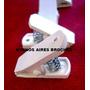 100 Broches Cocodrilos Plasticos Reforzados Portachupetes