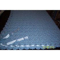 Manta Para Bebes En Crochet