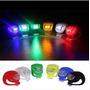 Luz Bicicleta Led Dis Colores Delan/trase 3 Modos Siliconada