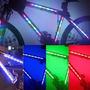 Kit Tiras Led Rgb Bicicleta + Modulo Lista P/usar Oferta !!!