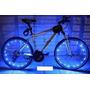 Luz Led P/ Rueda Bicicleta 20 Led , 2mts Impermeable Alto Br