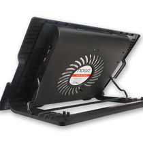 Base Con Cooler Para Notebook | Led | 2 Usb | Cable Usb |