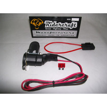 Toma 12 Volts Motos Ridercraft Kit Completo /cuatris/atv