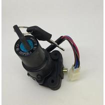 Llave Contacto Arranque +traba Yamaha Ybr 125 Ficha 4 Cables
