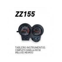 Tableroinstrumentoscompleto Zanellarx150 (relojes Negros)