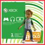 Suscripcion Oro 1 Mes Xbox Live Gold Jugar Internet Online