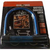 Candado Traba Linga En U Acero C/ 2 Llaves Bici O Moto