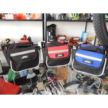 Bolso Alforja Porta Alimentos Celular Objetos Bicicicletas