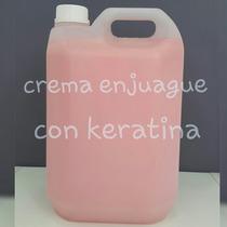 Crema Enjuague Para Después Alisado Con Keratina X5ltr
