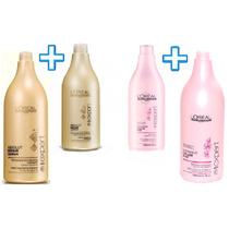 Shampoo+acondicionador Loreal Absolut Vitamino Liss Prokerat