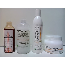 Kit Para Alisado Progresivo Handerly Beauty