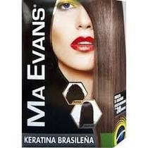 Ma Evans Keratina Brasileña Kit Tratamiento Alisado Perfecto