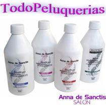Liquido De Permanente Anna De Sanctis Por 500 Ml*4 Opciones