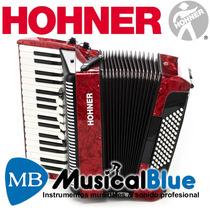 Acordeon Hohner Bravo 3 - 72 A Piano 34t. 72b. 5r. 2r.