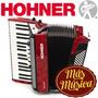 Hohner A1663s Acordeón Bravo 3 72; 32 Teclas; 72 Bajos