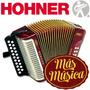 Hohner A2606 Acordeón Diatónico Erica; 21 Teclas; 8 Bajos