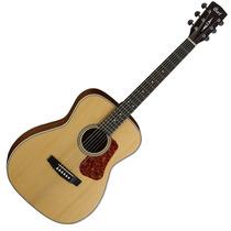 Guitarra Acústica Cort L100c En Natural Y Sunburst Con Funda