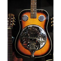 Guitarra Acústica Resonadora - Dobro Folk - Sunburst