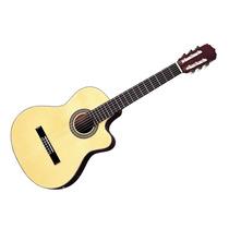 Guitarra Clasica Con Ecualizador Aria Ak30