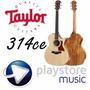 Guitarra Electro Acustica Taylor 314ce C/estuche Nueva!!