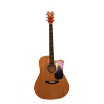 Guitarra Acustica Master Rojo Flameado