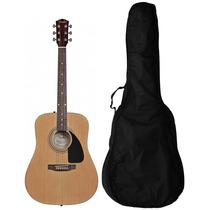 Fender Fa100 Acoustic W/gig Bag - Natural