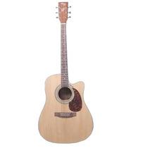 Guitarra Acustica Con Corte Parquer Mystic Tipo Yamaha