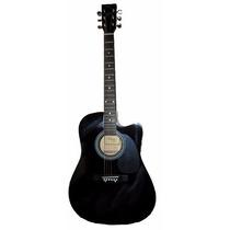 Guitarra Acustica Custom Con Corte Parquer Excelente Calidad
