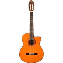 Washburn C5ce Classic Style Nylon Guitar - Natural Cutaway W