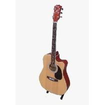 Guitarra Acustica Master Rojo Flameado Gac126mr