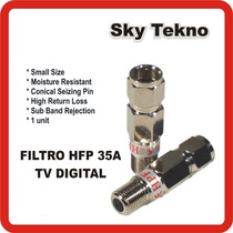 Filtro De Internet Para Catv Rf P/ Cable Rg6 Rg59