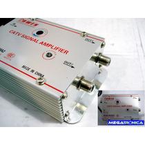 Amplificador Distribuidor Señal Cable Catv 2 Salidas 30db Ar