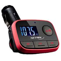 Transmisor Fm Para Auto Reproductor Usb Sd Pen Drive Mp3