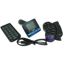 Transmisor Fm De Mp3 Y Mp4 Para El Auto Con Control Remoto
