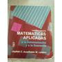 Matematicas Aplicadas A La Administracion Y A La Economia