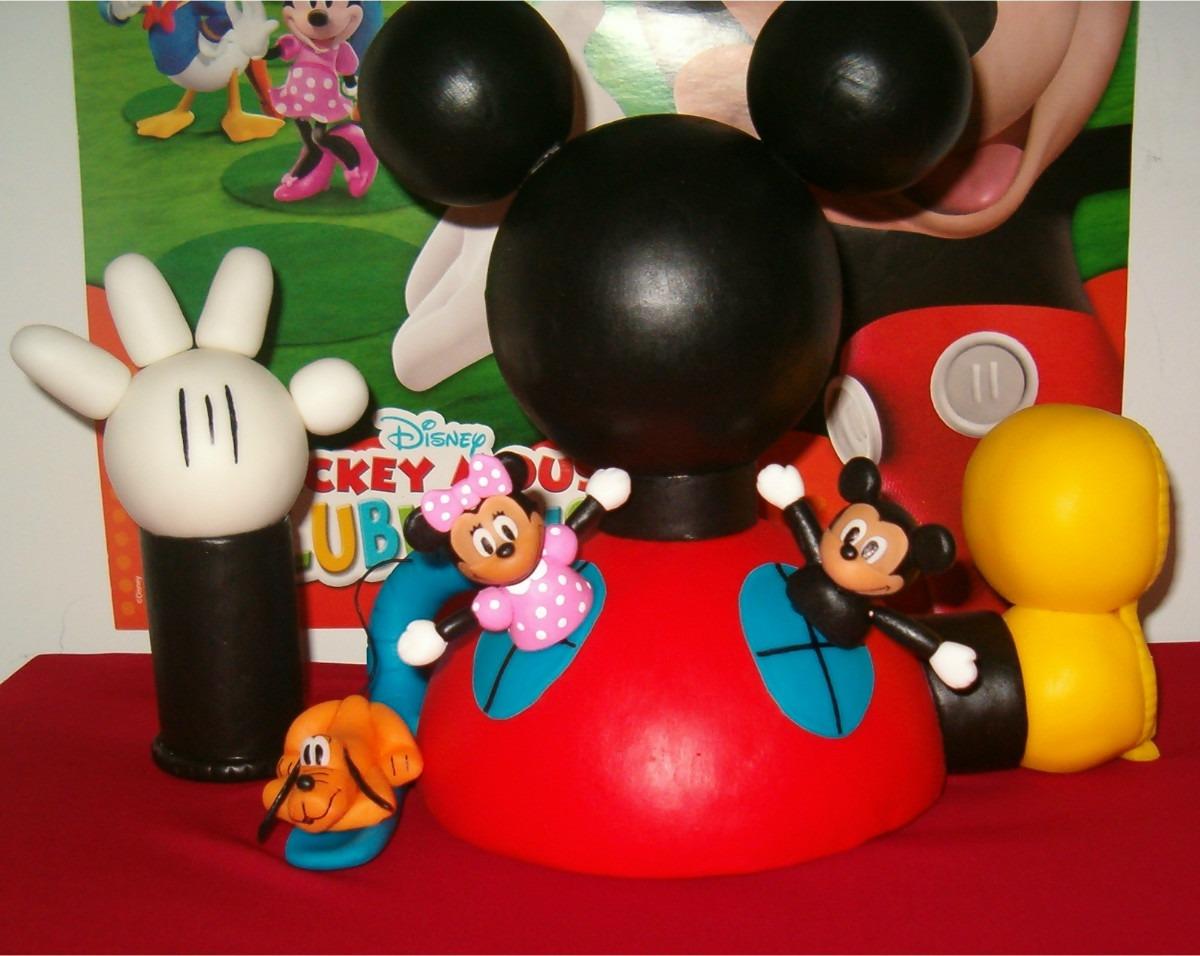 Adorno P/ Torta : La Casa De Mickey Mouse! - $ 280,00 en MercadoLibre