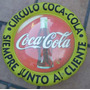 Antiguo Cartel Inflable Coca Cola