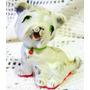 El Arcon Figura De Porcelana Pequeño Perrito Sentado 1018